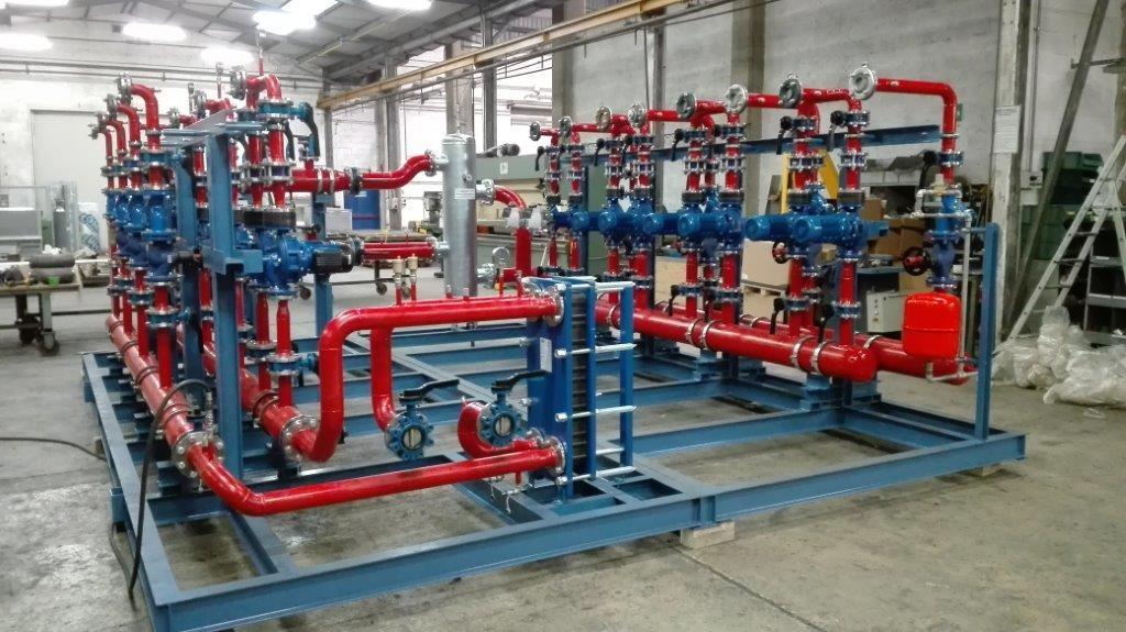 impianti industriali trattamento aria aeromeccanica veneta