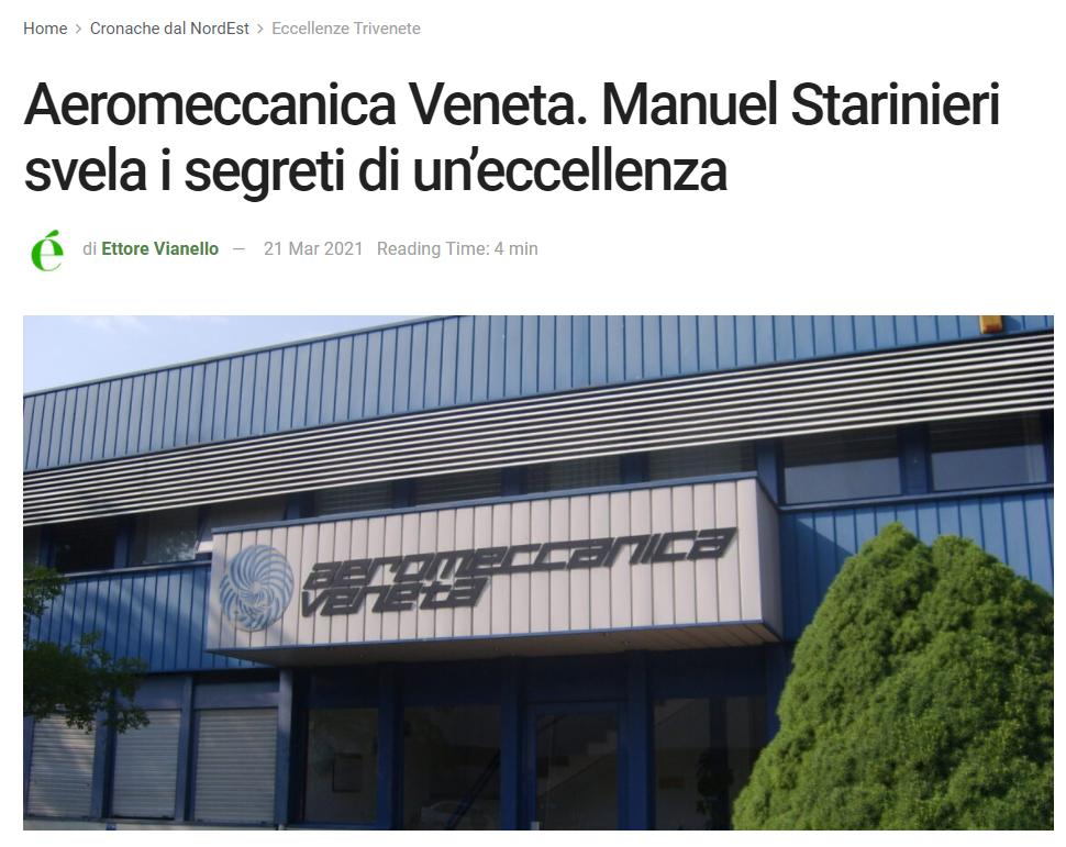 èNordEst incontra Aeromeccanica Veneta S.r.l.